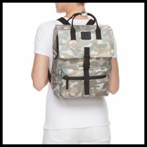T-Shirt & Jeans Bags - T-SHIRT & JEANS LARGE SQUARE CAMOUFLAGE BACKPACK
